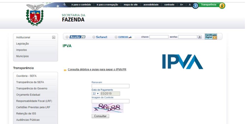 IPVA 2020 PR